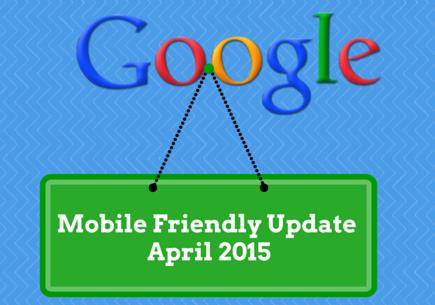 google mobilní update