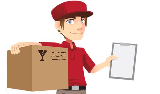 doručení objednávky z e-shopu následující pracovní den