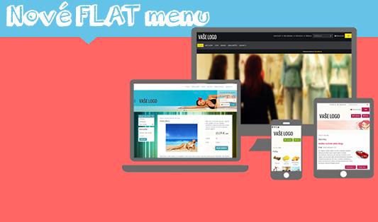 obrázkové menu pro webstránky a e-shopy, webdesign