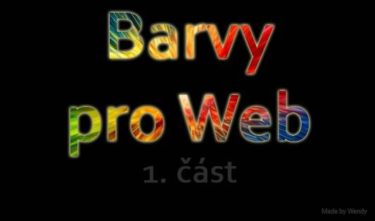 barvy a jejich význam ve webdesignu