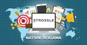 nativní reklama Strossle