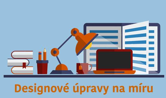 designové úpravy pro e-shop a webové stránky