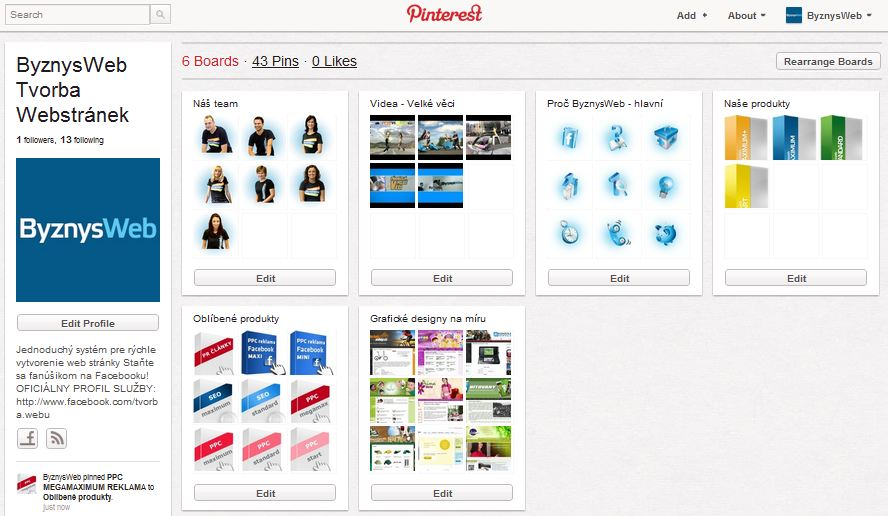 byznysweb na pinterestu