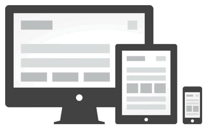 mobilní responzivní verze webu