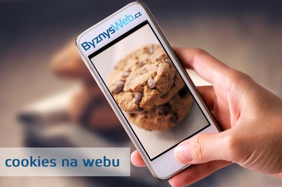 cookies na webové stránce a eshopu