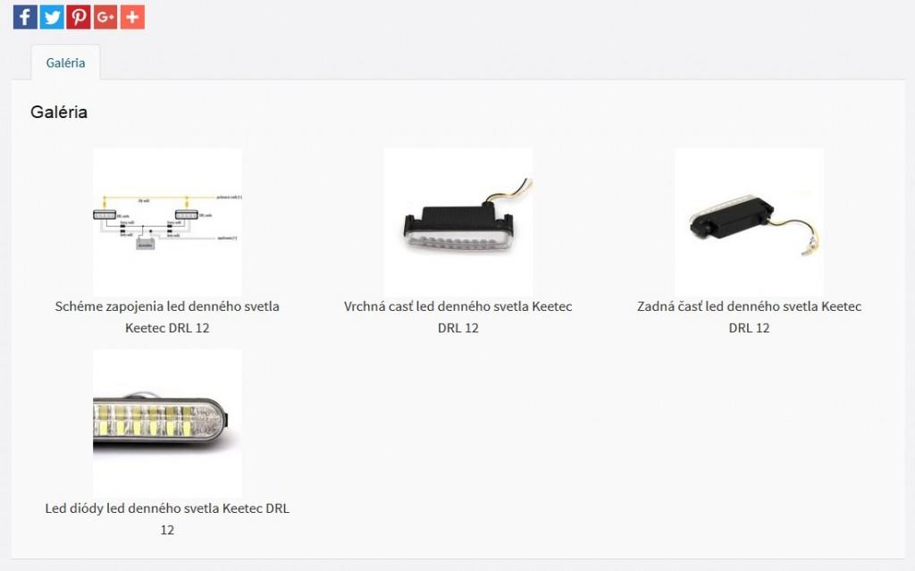 produktová fotogalerie e-shopu