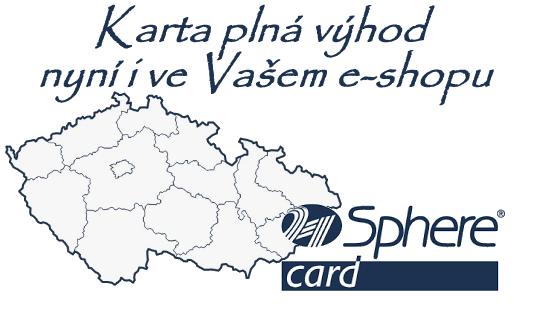 sphere card nyní i ve Vašem e-shopu