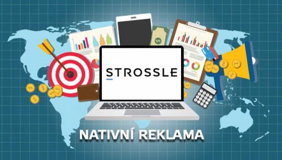jak funguje nativní reklama Strossle