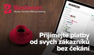Besteron. nová, rychlá platební možnost pro slovenské zákazníky