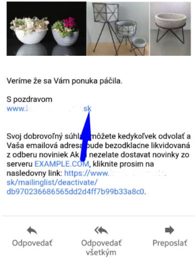před spuštěním svého e-shopu si dokonale zkontrolujte, zda nejsou v textu žádné pozůstatky z testovací verze