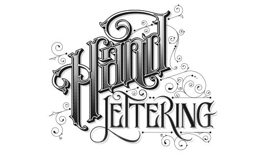 hand lettering na webu