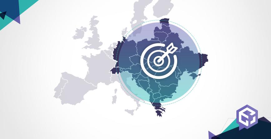 expanze do centrální a východní Evropy