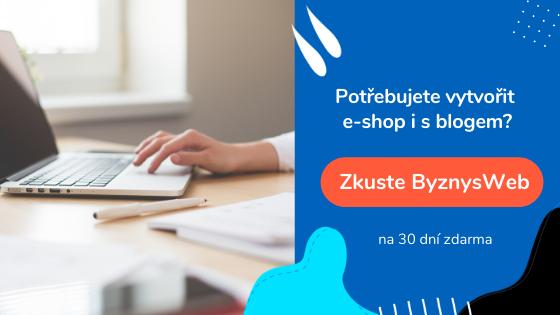 tvorba e-shopu s blogem | ByznysWeb