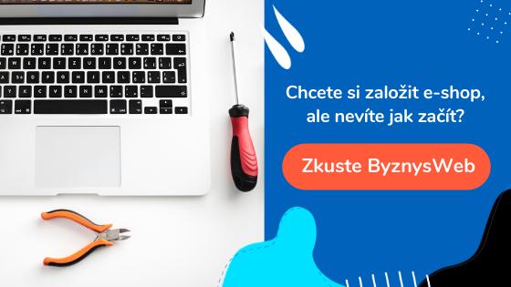 založení e-shopu v ByznysWeb.cz